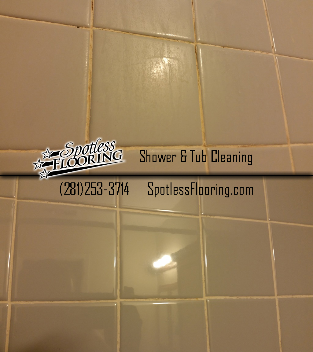 Shower & Tub Tile Cleaning B&A