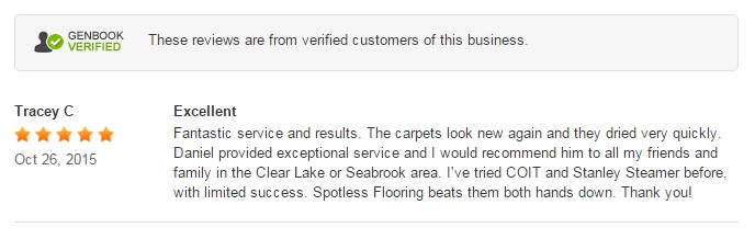 carpet cleaning seabrook tx review spotless flooring