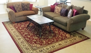 on-site area rug cleaning in league city tx