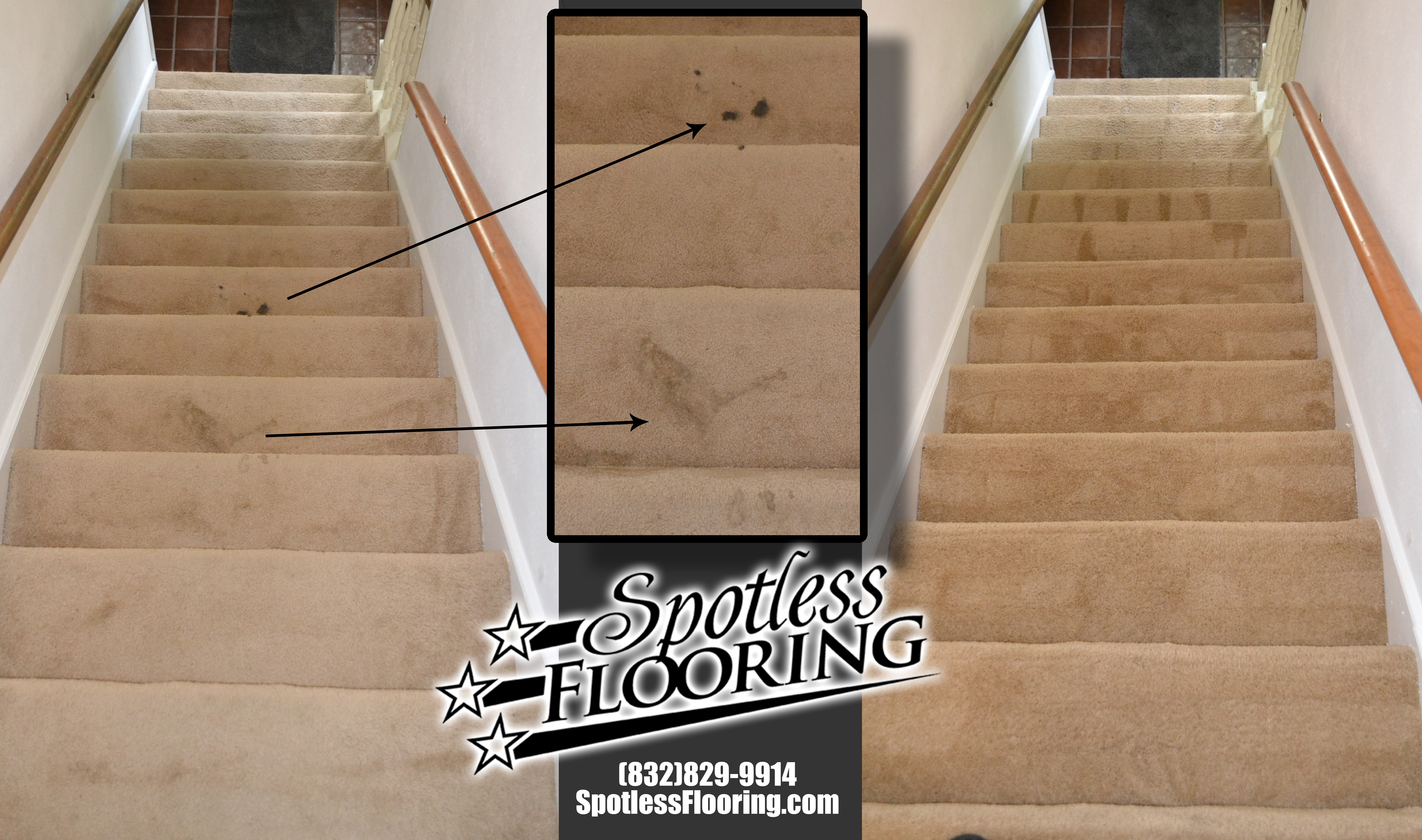 Carpet Cleaning Stairs 1