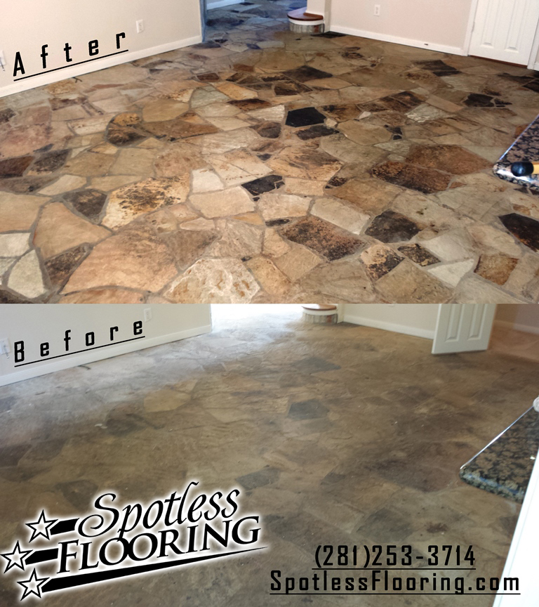 Outdoor Stone Cleaning