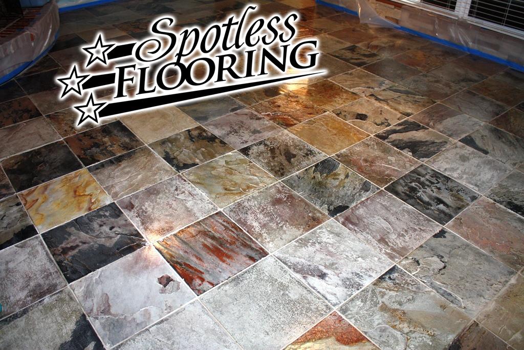 Spotless Flooring Slate Finish