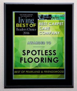 Carpet Cleaning, Best of Pearland and Friendswood